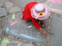 "Конкурс за Детска рисунка ""Аз обичам природата"", 5 юли, 2008, площад ""20-ти април"", Копривщица"