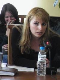 """Невена Праматарова (Управляващ директор на фондация """"Европейски екологичен фестивал"""")"""