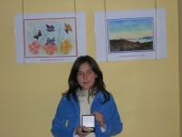 Александра Стоицева, 12 години, носител на Първа награда в Конкурса за детска рисунка